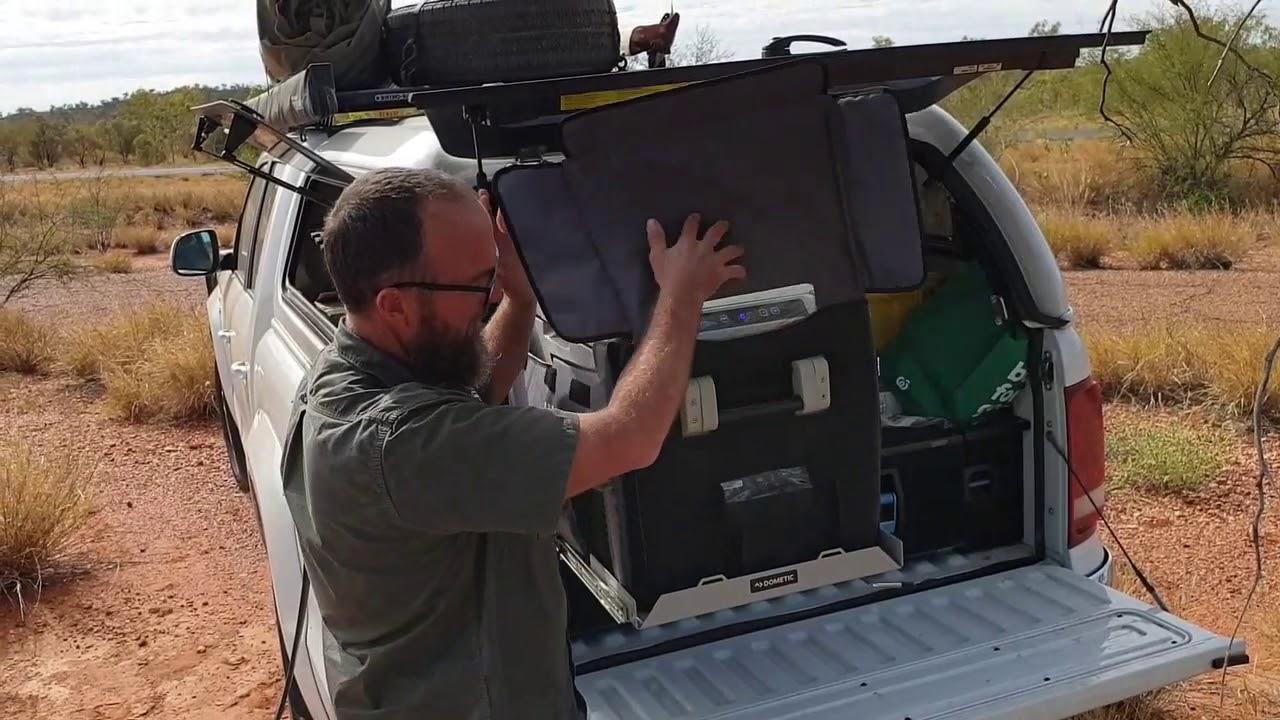 Camping Fridge Review, Dometic Waeco CFX-50W Portable Fridge / Freezer