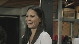 EXCLUSIVE: WATCH: This 'Ridealong 2' Blooper Reel Has Olivia Munn Cry-Laughing