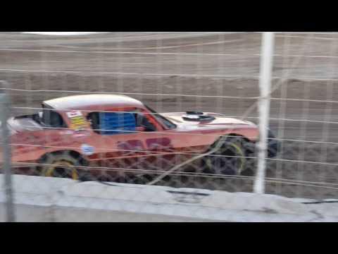 Vaden Motorsports 4/1/17 Heat Race co-pilot Halee Vaden