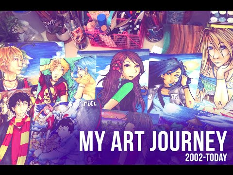My Art Journey: Improvement from 2002 to 2016