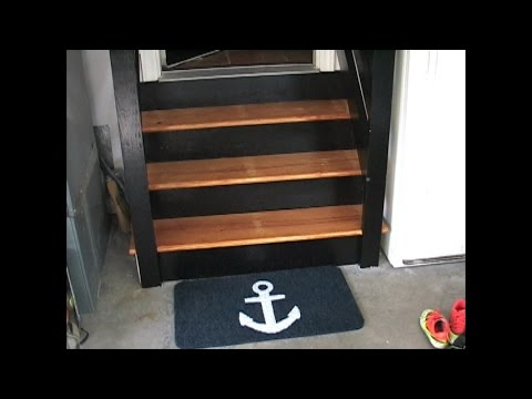 Renewing your worn out garage steps