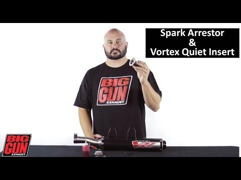 Big Gun Exhaust Tech Talk - Spark Arrestor & Vortex Installation