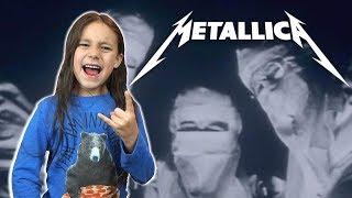 KID REACTS To Metallica - One
