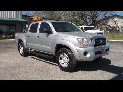 2011 Toyota Tacoma Sr5 Double Cab 4 Cylinder Review Youtube