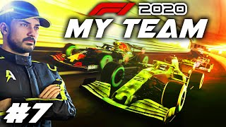 F1 2020 MY TEAM CAREER Part 7: MONACO, AT NIGHT?! Rain Changes The Race! Special One-Off Livery!