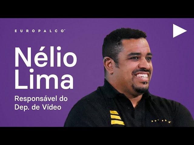 Nélio Lima - Resp. do Departamento de Vídeo na EUROPALCO