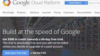 Hướng Dẫn Đăng Kí VPS Google Free 300$-Góc Thủ Thuật