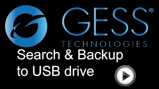GESS F-Series DVR: How to Search/Playback & Backup to USB