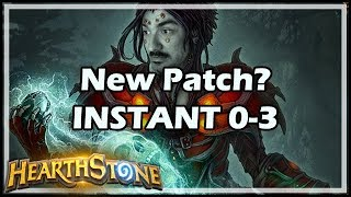 New Patch? INSTANT 0-3 :( - Rastakhan's Rumble Hearthstone