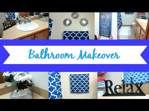 BATHROOM MAKEOVER | DECOR IDEAS