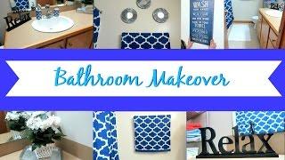 BATHROOM MAKEOVER | DECOR IDEAS