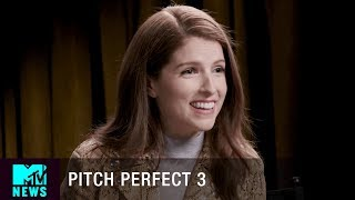 Anna Kendrick of 'Pitch Perfect 3' Stans 'Stranger Things' | MTV News