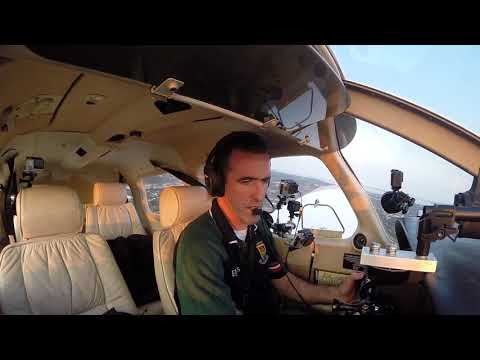 Piper Archer III, 9 cameras rolling . Come along on the flight !!