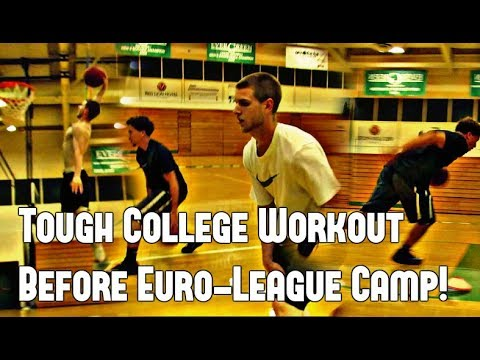Jxmy Does A College Basketball Workout!