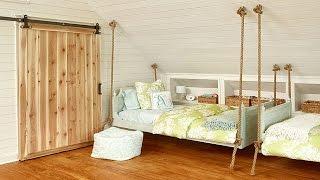 Кровать своими руками(Видео-блог о дизайне, архитектуре и стиле. Идеи для тех кто обустраивает свой дом, квартиру, дачу, садовый..., 2015-02-11T11:00:09.000Z)