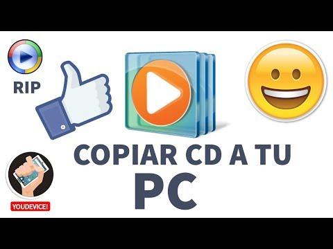 Como Copiar un CD de audio a MP3 con Windows Media Player