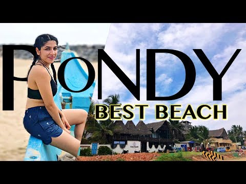 Travel Vlog |THE BEST BEACHES IN PONDICHERRY | Must Visit in Pondy | dr.biophile