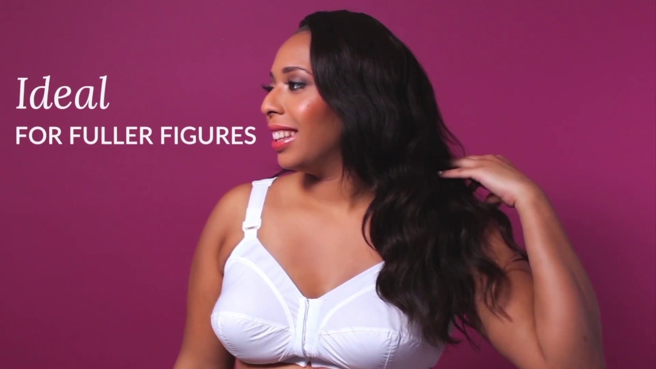 142a8de92b Exquisite Form Front Close Classic Support Bra - YouTube