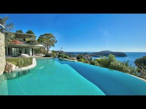 Location saisonnière VILLA Villefranche-Sur-Mer (06230) - 7 chambres - Vue mer panoramique