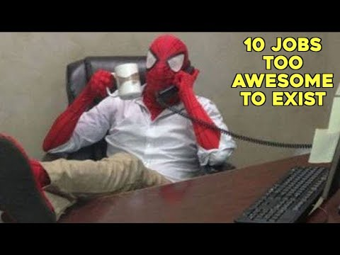 10 Jobs Too Awesome to Exist
