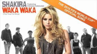 Download Lagu Shakira feat Freshlyground Waka Waka This Time For Africa MP3
