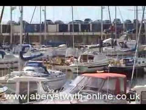 Aberystwyth Harbour Silent Movie