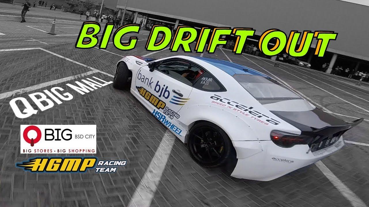 Qbig Mall Bsd Drift 2018 Big Drift Out Driftcar Chase 4k