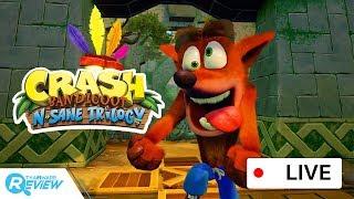 เกมส์ Crash Bandicoot N. Sane Trilogy! หมาแดงผู้เบิกความหัวร้อนในตำนาน ! [Live Game Streaming]