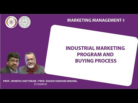Industrial Marketing Program and Buying Process