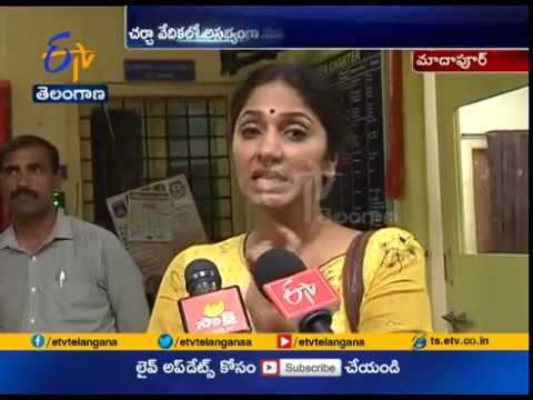 Cine Artists Gives Complaint   on Private News Channel Anchor   Hyderabad
