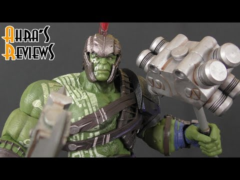 Marvel Select Gladiator Hulk Thor Ragnarok Movie Action Figure Review Recensione
