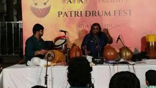 A Piece in Peace - GOWRI MANOHARI - Misra Chapu @ PATRI DRUM FEST SARVESH KARTHICK & GHATAM KARTHICK