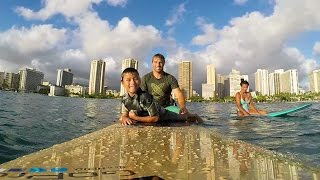 GoPro: Surfing with the Walsh Family