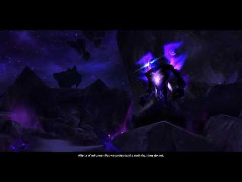 Allied Races Intro - Void Elves 7.3.5 PTR