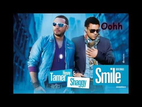 Tamer Hosny ft Shaggy - Smile with Lyrics