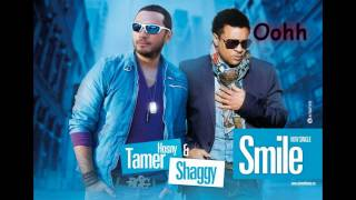 Tamer Hosny ft Shaggy - Smile with Lyrics