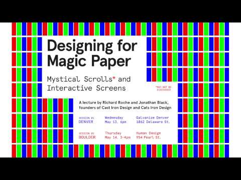 Designing for Magic Paper: Mystical Scrolls and Interactive Screens
