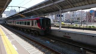 JR四国 2600系 うずしお11号 高松駅発車 2019/3/26
