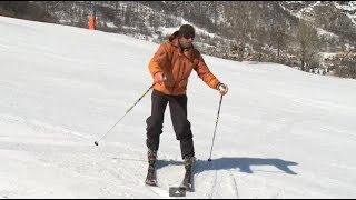 Урок 7 - Как поворачивать в плуге на горных лыжах #7