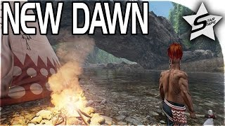 New Dawn Gameplay - NATIVES VS PIRATES - Island Survival Sandbox - Villages & PIRATE STRONGHOLDS