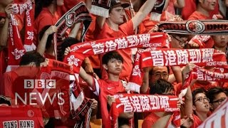 Why were Hong Kong fans booing their anthem? BBC News