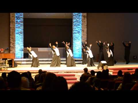 """Cornerstone AG - """"Deeper"""" By Marvin Sapp First Service Dance"""