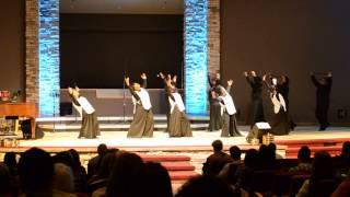 "Cornerstone AG - ""Deeper"" By Marvin Sapp First Service Dance"