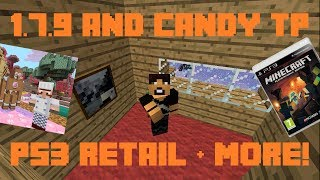 Minecraft Weekly News: PS3 Retail, Update 1.7.9, Candy Textures & Bejewelled!