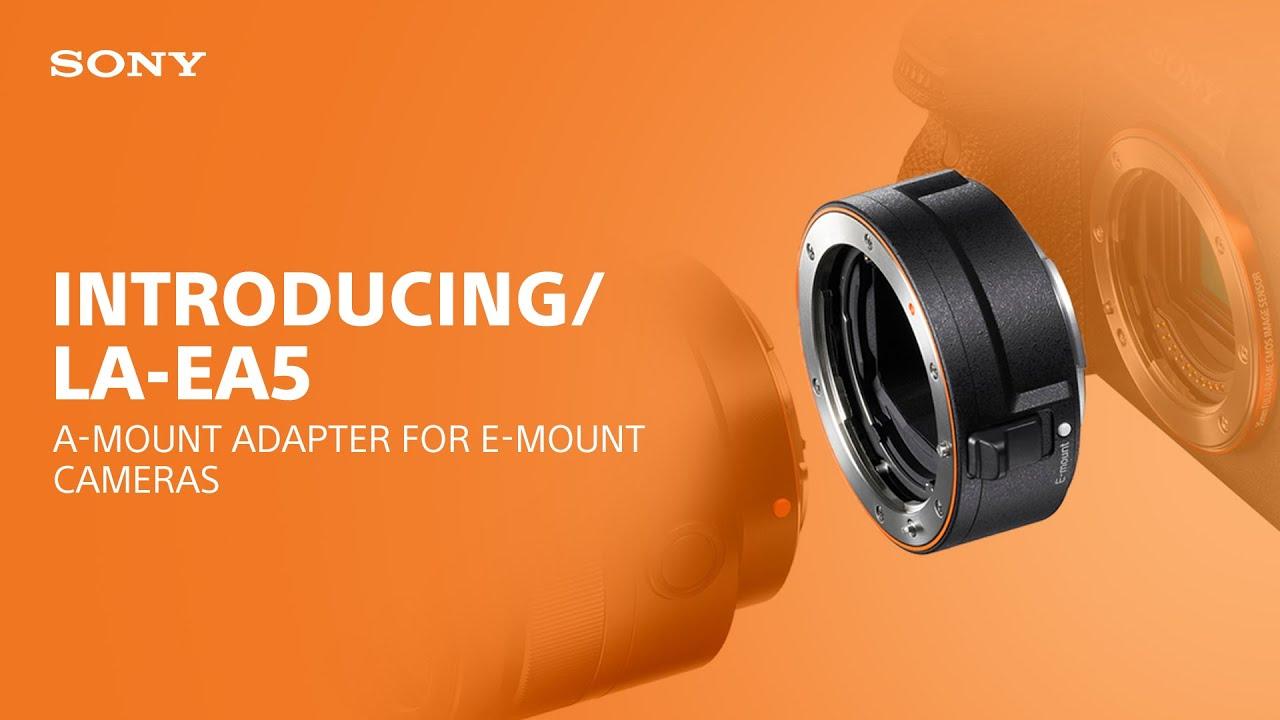 Sony LA-EA5 A-Mount Lens Adapter for E-Mount Cameras