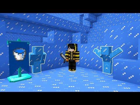 GÖRÜNMEYEN BUZ OLDUM! - Minecraft SAKLAMBAÇ