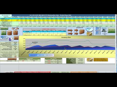 Production Planning & Scheduling with Excel #10 - Manual vs. Automated Scheduling