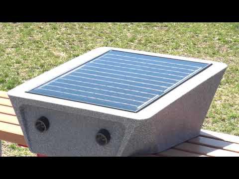 Laurel Community Spotlight: Solar Bench in Emancipation Park - April 3, 2019