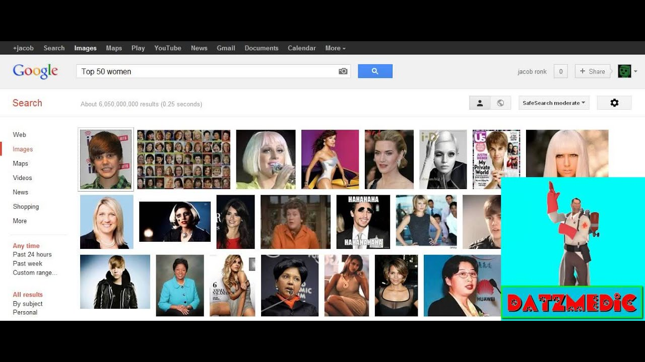 hilarious google search top 50 women on the internet youtube