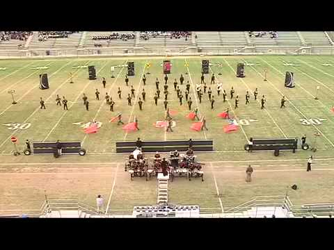 Ninety six high school wildcat marching band 2012
